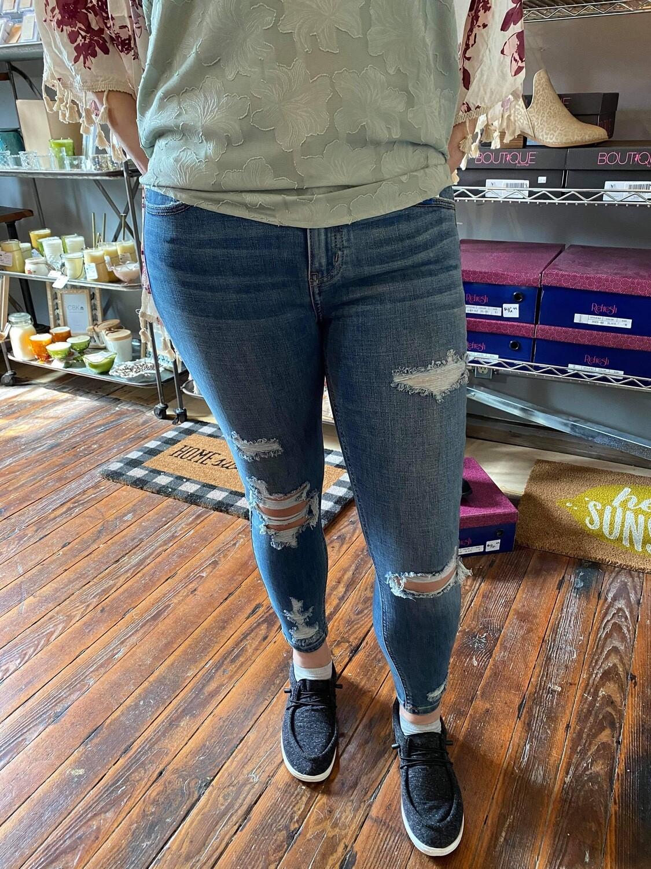 Josie Mid Rise Jeans