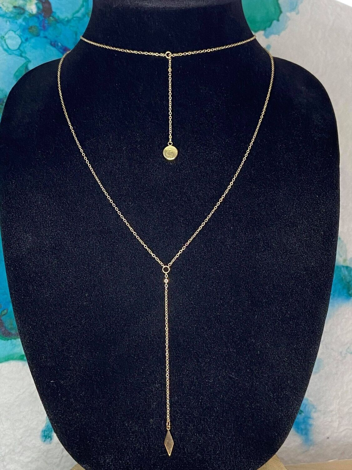 Two Layer Y-Necklace