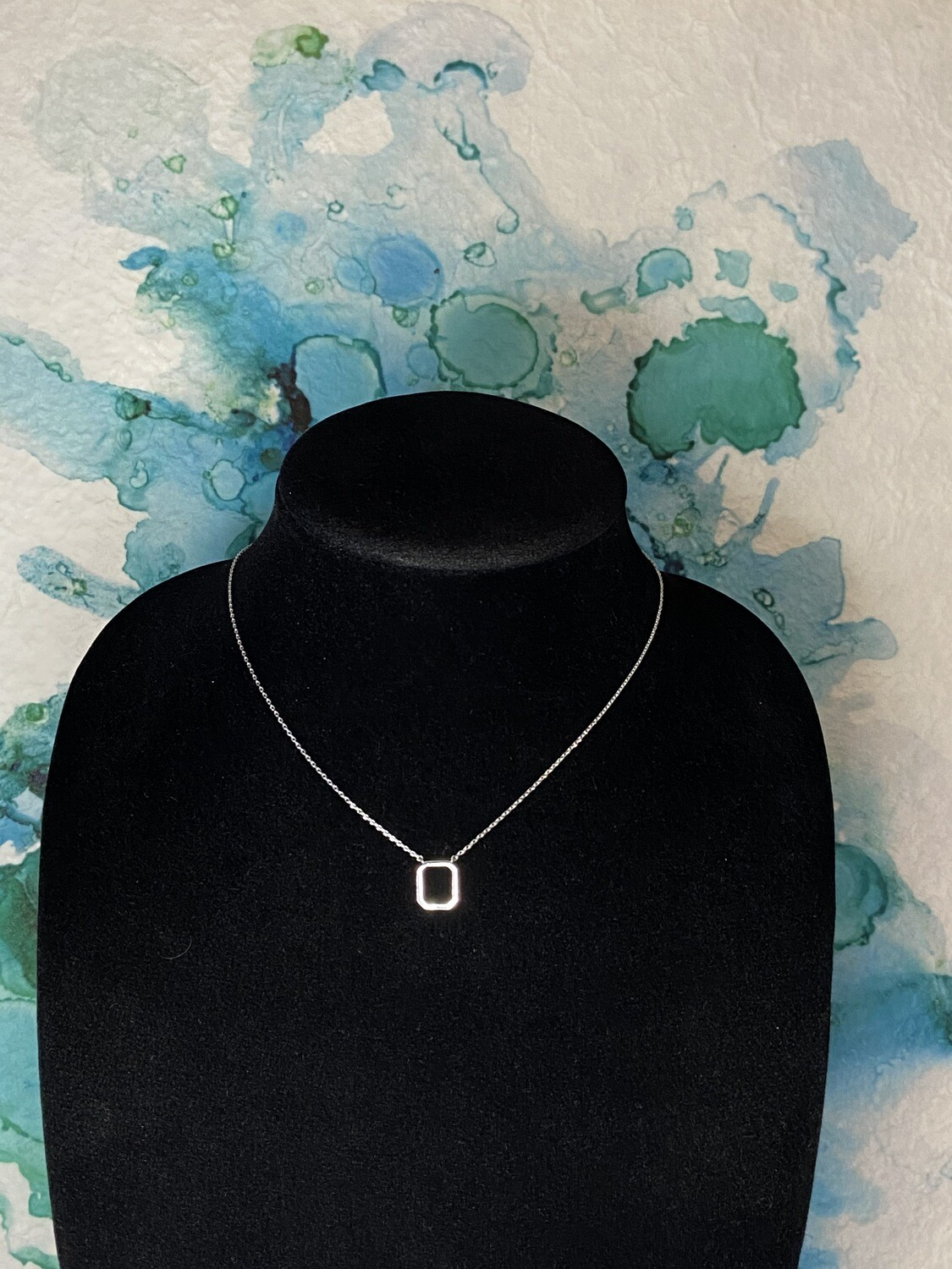 Rectangle Dainty Necklace