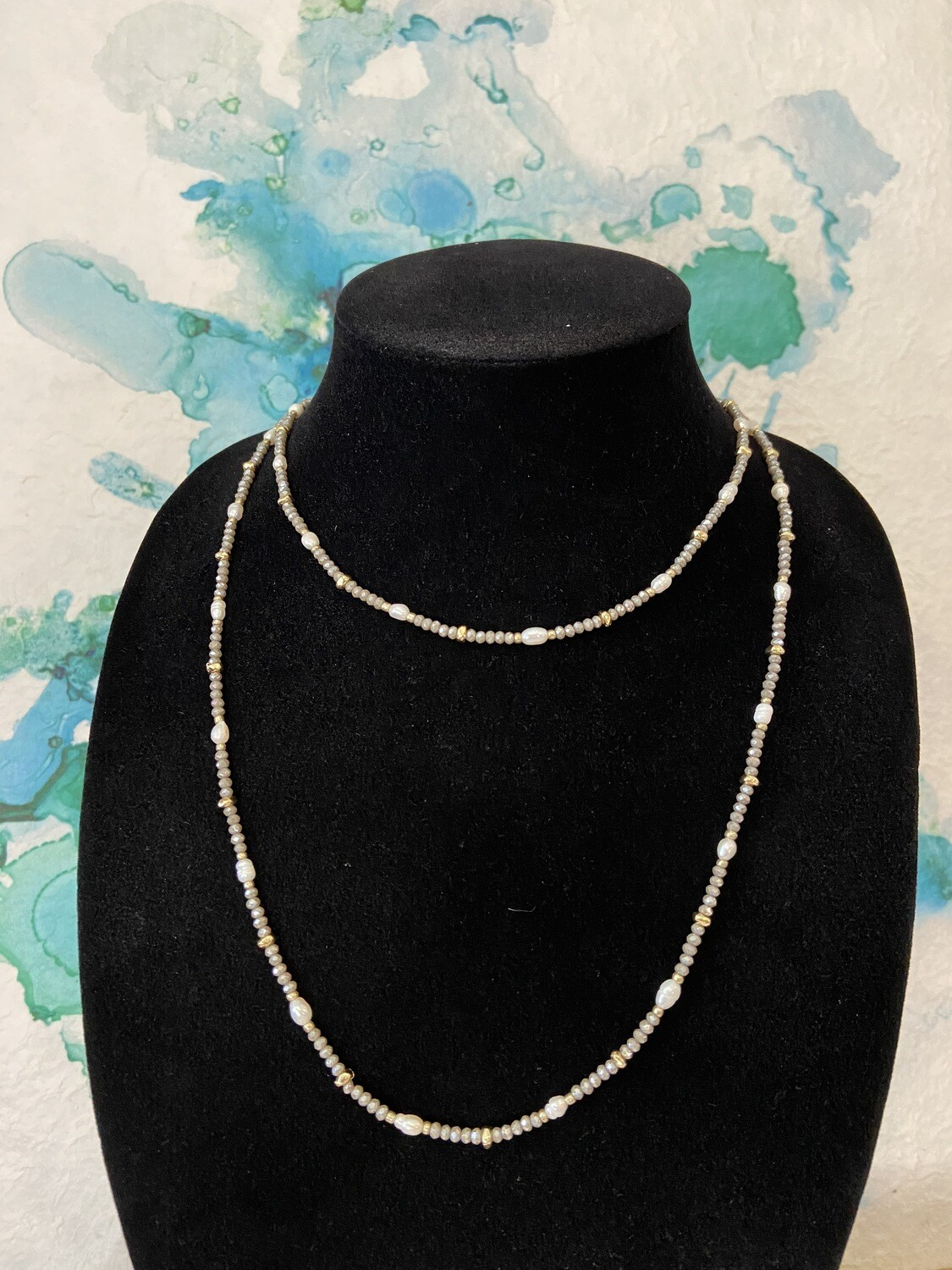 Bead/Pearl Necklace