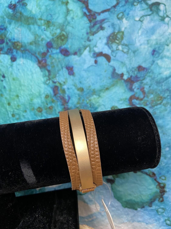 Leather Magnetic Bracelet