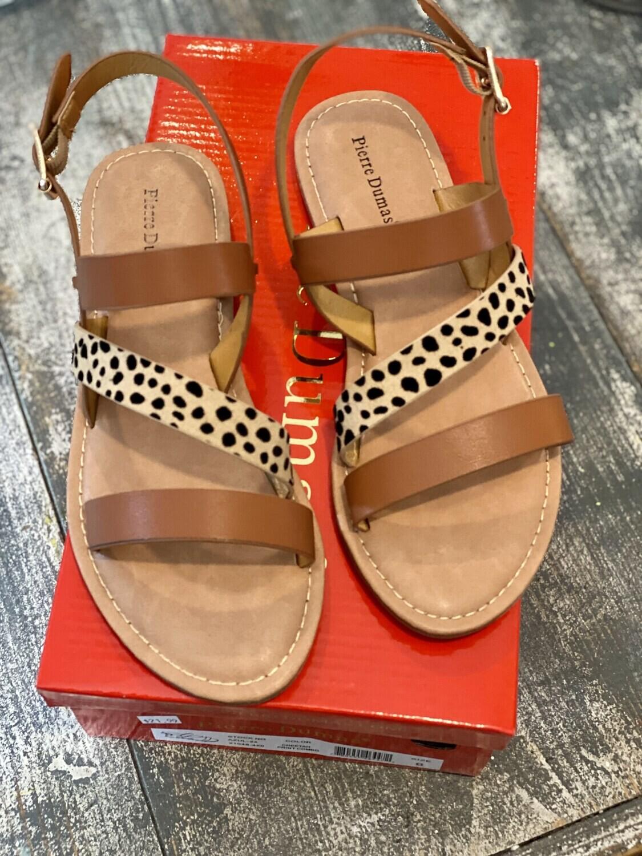 Cheetah Strappy Sandals