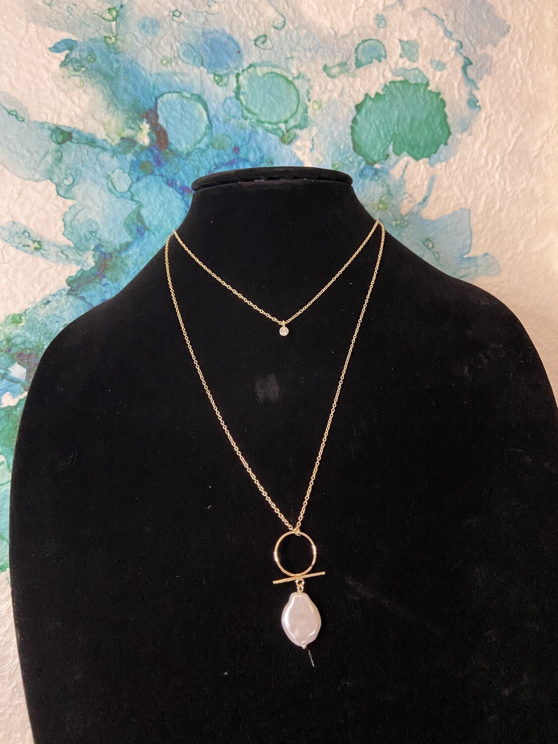 $17.99 layer pearl necklace