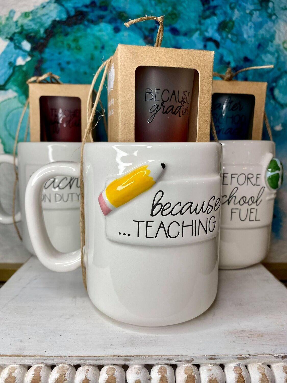 Teachers Mug/Shot Glass Set