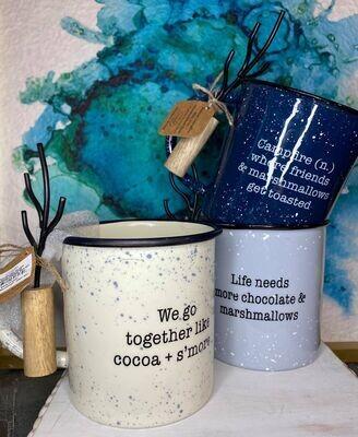 Marshmallow Mugs with Stick