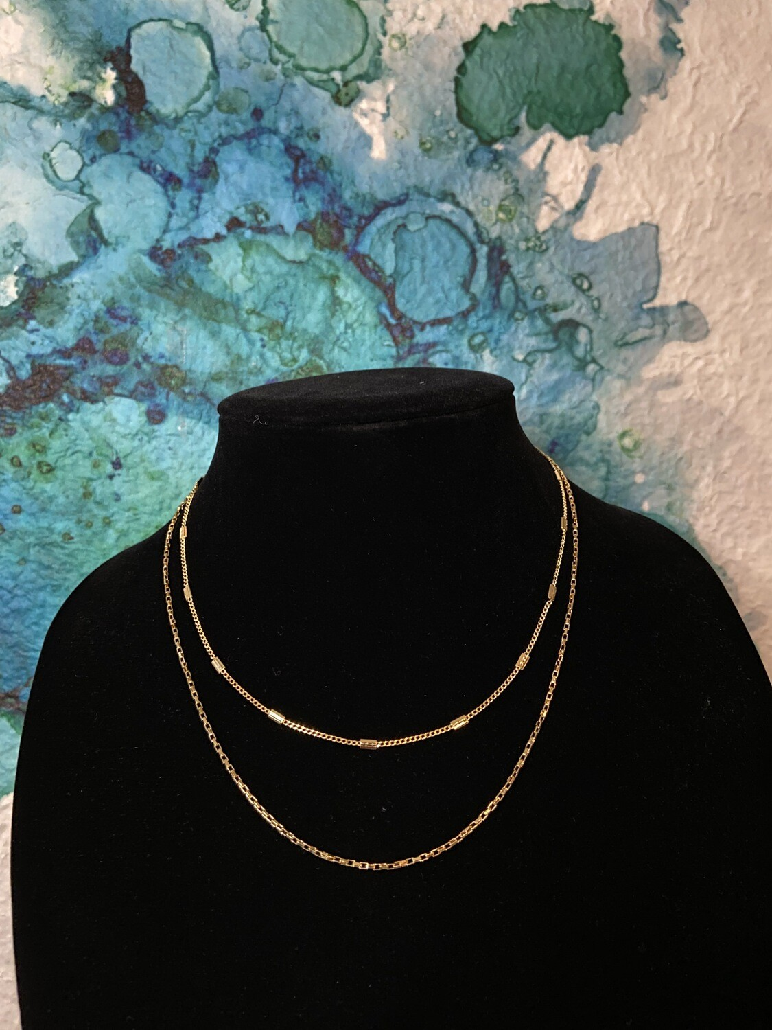 Two Layer Dainty Necklace