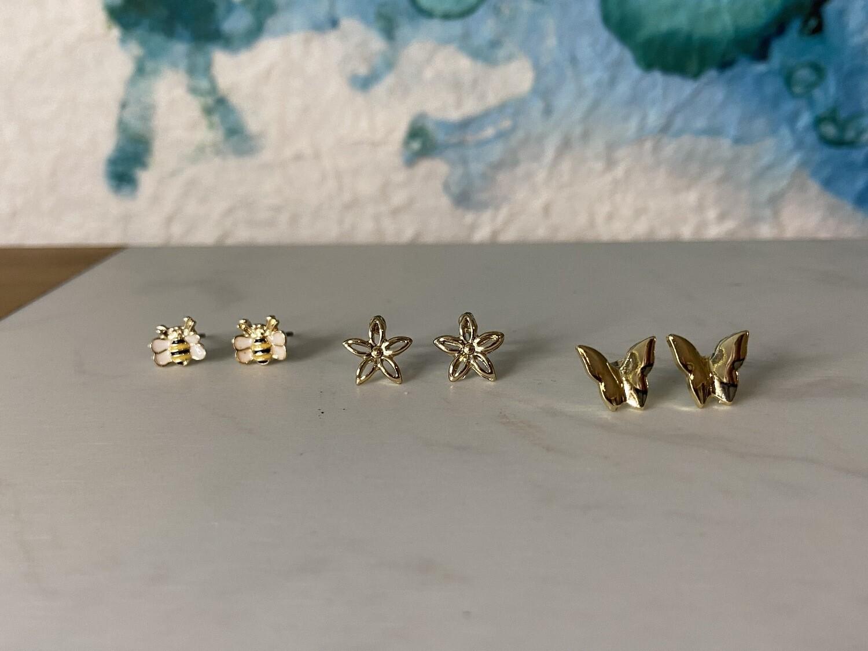Butterfly/Bee Studs