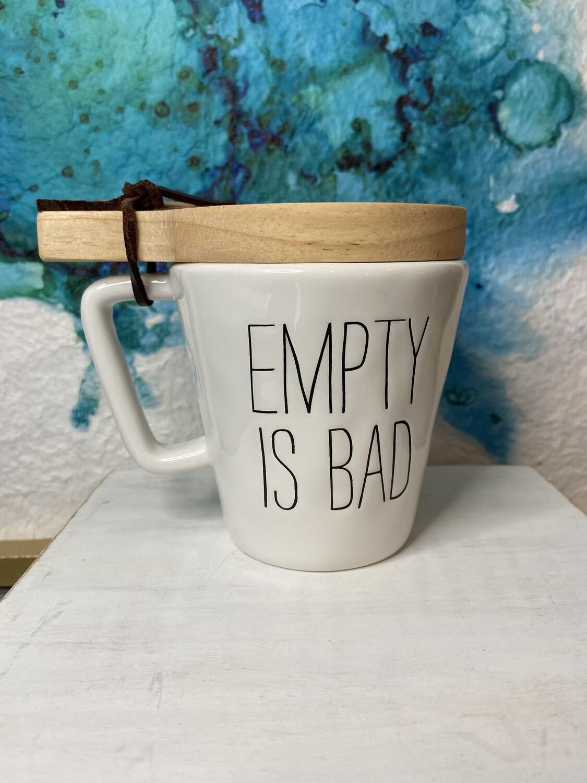 Empty Mug & Coaster Set