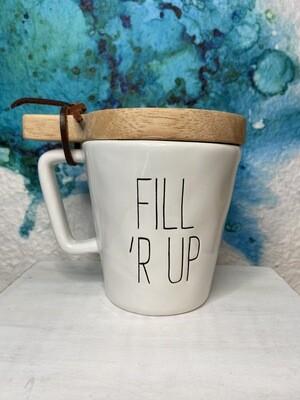 Fill 'R Up Mug & Coaster Set