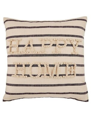 Happy Chunky Knot Pillow