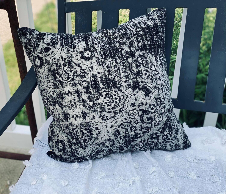 Faded Velvet Pillow
