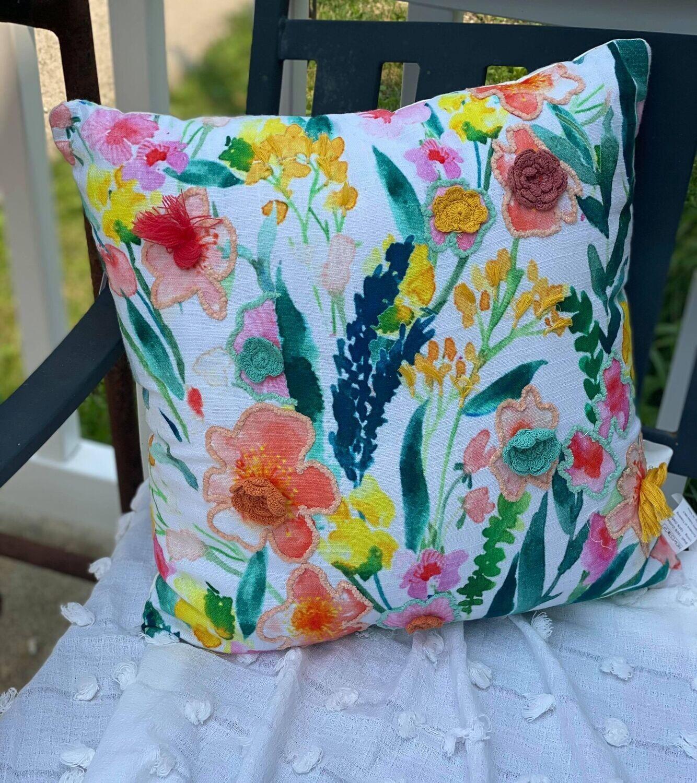 Floral Pillow Spring