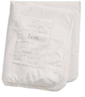 Little Love Sherpa Blanket