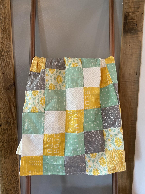 Fleece Lined Baby Blanket