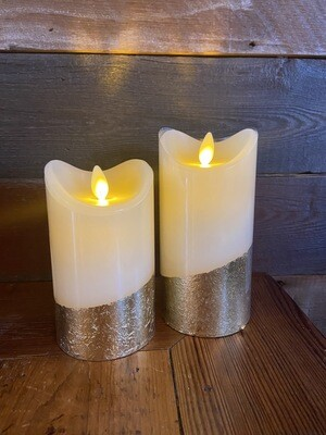 Faux Wax Candle