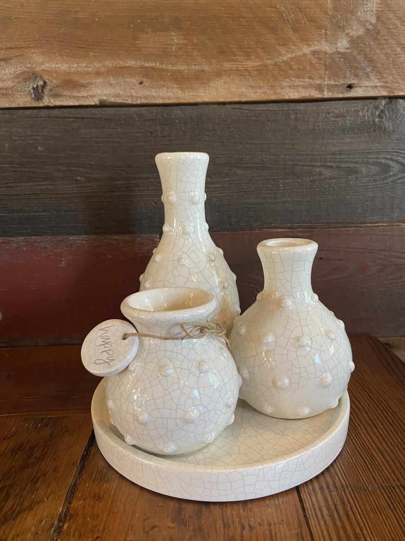 Multi Bud Vases