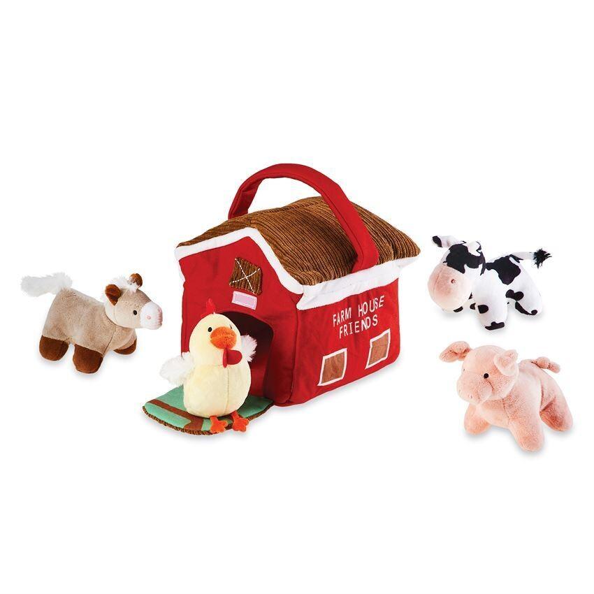 Farm House Plush Set