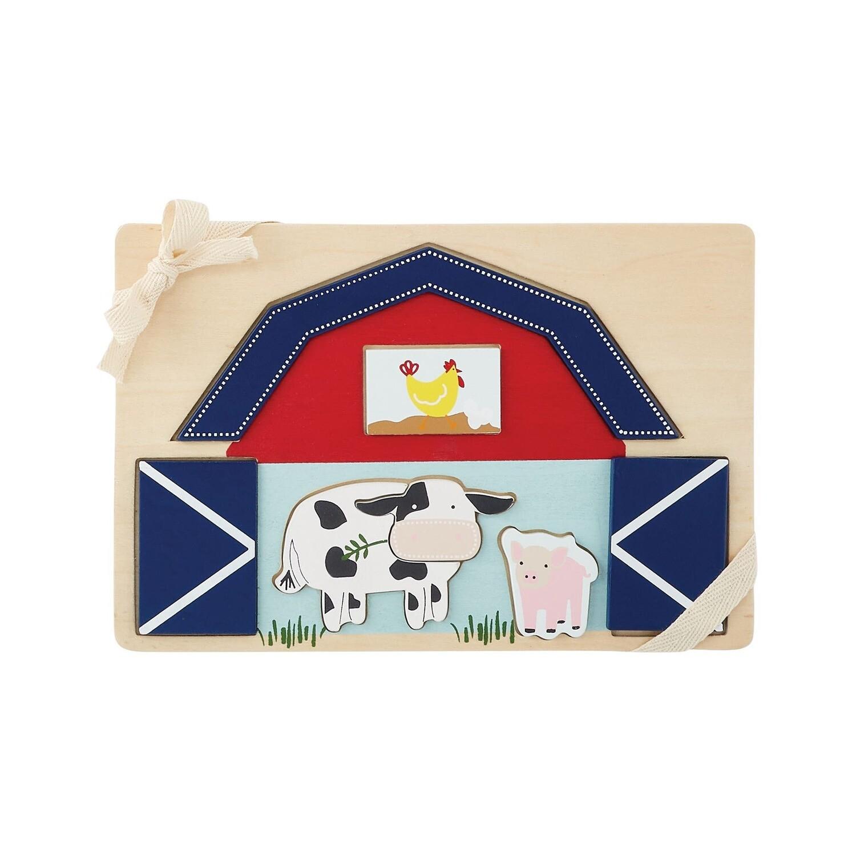 Barn Farmhouse Puzzle