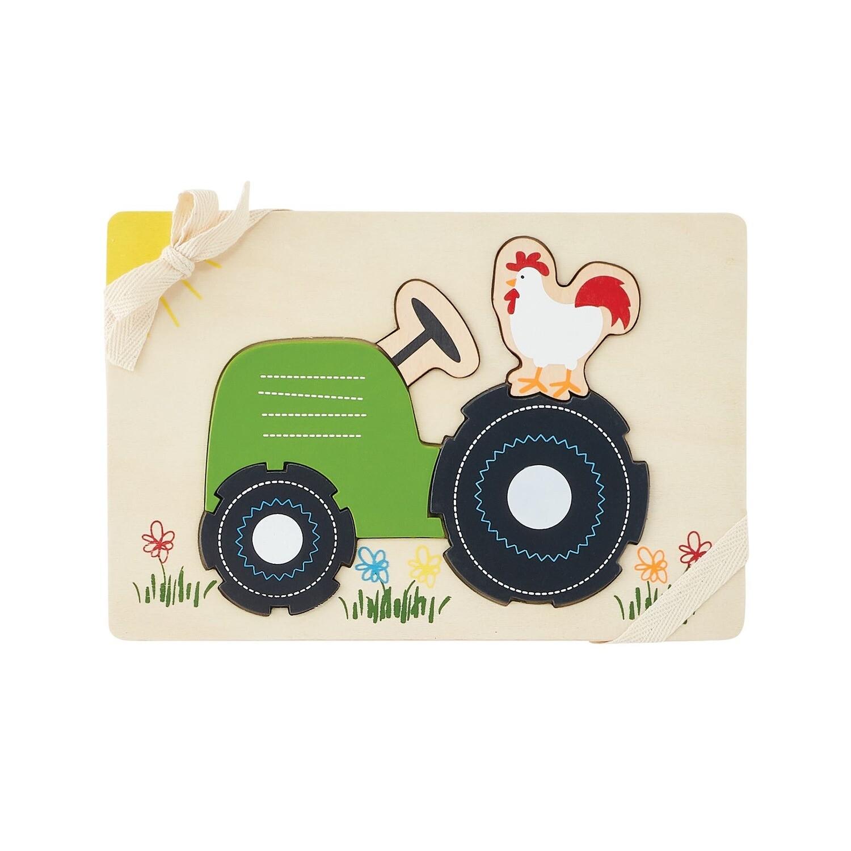 Tractor Farmhouse Puzzle