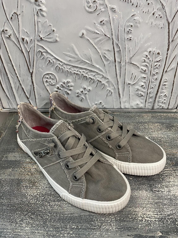 Gray Kids Shoe