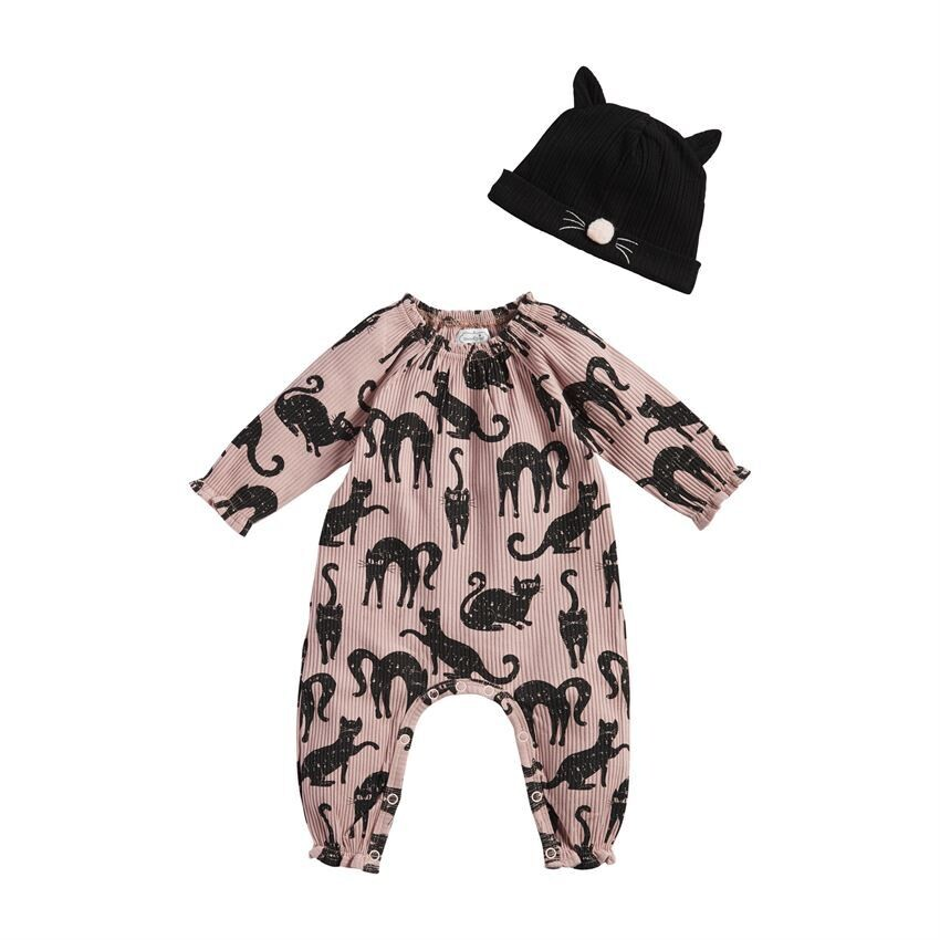Cat 1 Piece and Hat