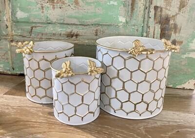 Honeycomb Bee Holder