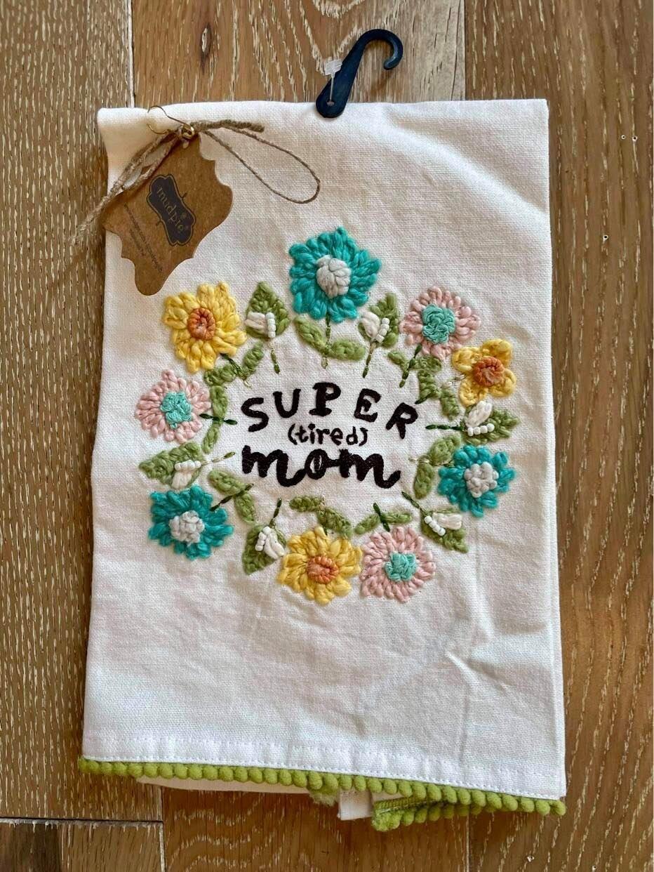 Mom Floral Towels