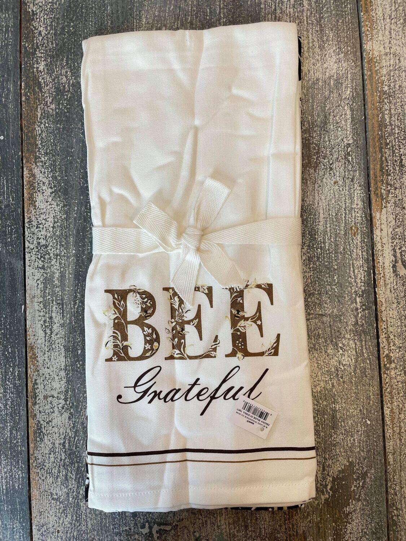 Bee Grateful Dish Towels