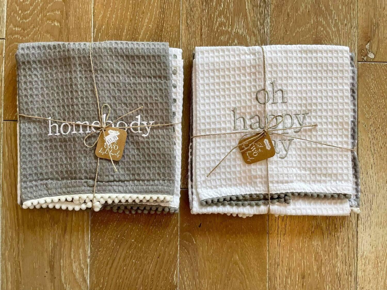 Happy Day Waffle Towel Set