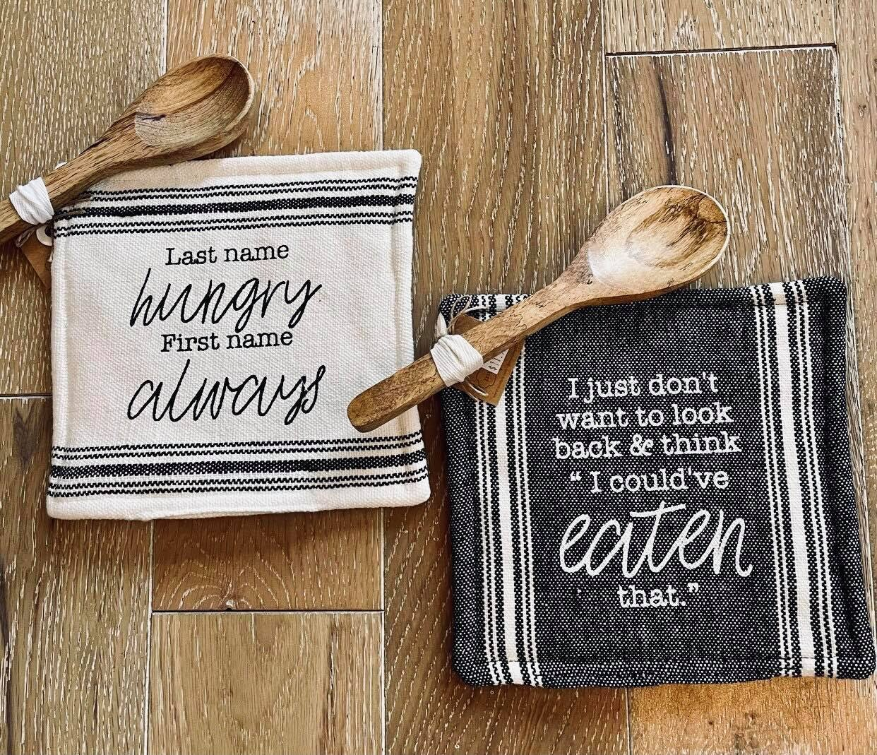 Pot Holders With Spoon