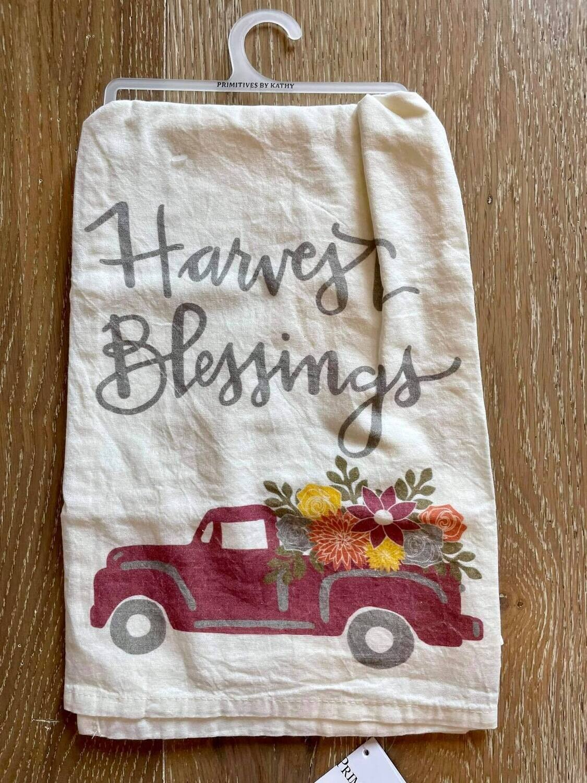 Harvest Blessings Hand Towel