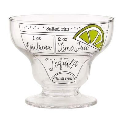 Margarita Ingredient Glass