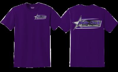 Holly Clark Racing Purple T-Shirt