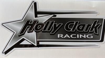 Holly Clark Racing Sticker