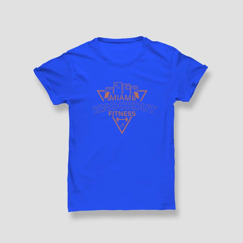 MKO Fitness Unisex Cotton T-Shirt