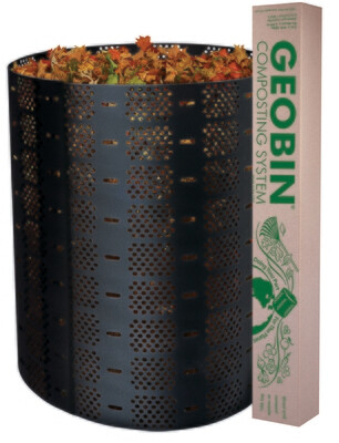 GeoBin Open Composter and Leaf Corral