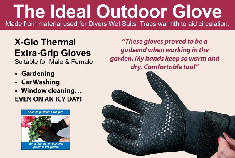 X-Glo Thermal Extra Grip Gloves