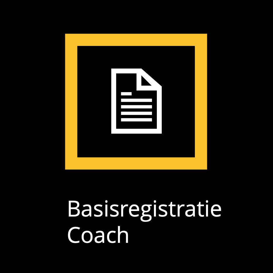 Basisregistratie Coach