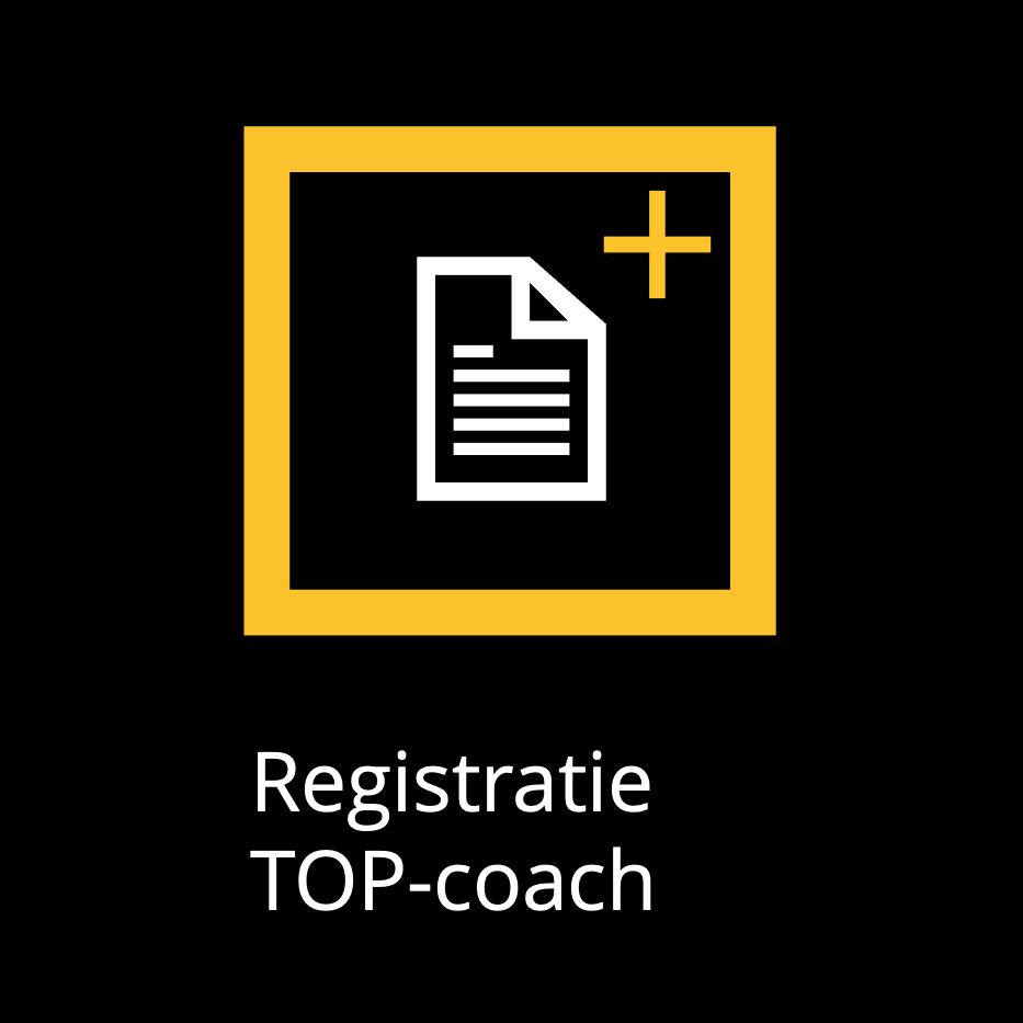 Registratie TOP-coach