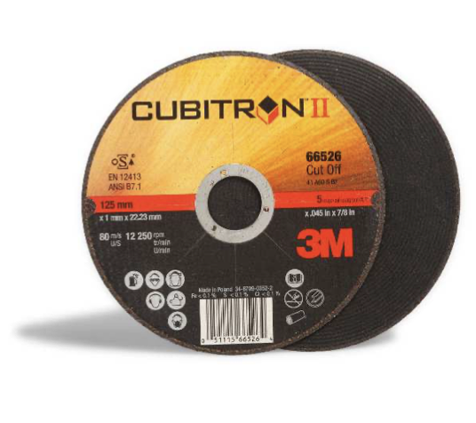 3M™ Cubitron™ II Disco da taglio T41 115 mm 1,6 mm