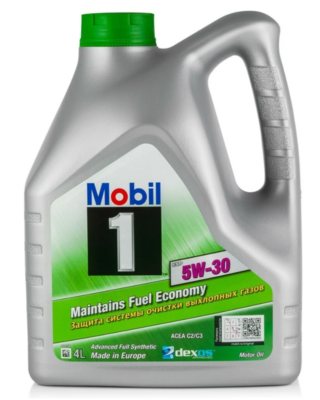 Синтетическое моторное масло MOBIL 1 ESP 5W-30 4 л