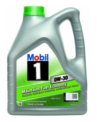 Моторное масло MOBIL 1 ESP 0W-30 синтетическое 4 л