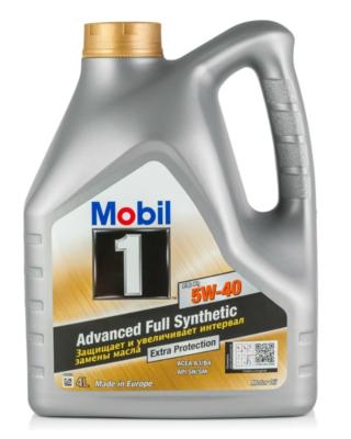 Синтетическое моторное масло MOBIL 1 FS X1 5W-40 4 л