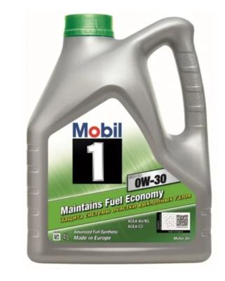 Моторное масло MOBIL 1 ESP LV 0W-30 синтетическое 4 л