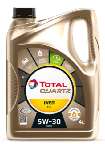 Моторное масло TOTAL Quartz INEO ECS 5W-30 синтетическое 4 л