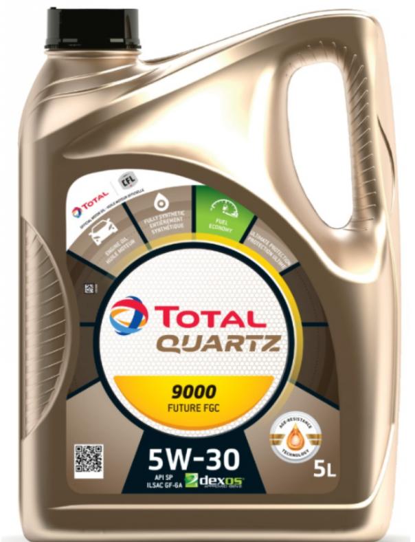 Моторное масло TOTAL Quartz 9000 Future FGC 5W-30 синтетическое 4 л