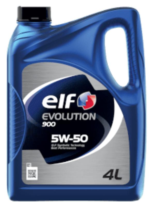 Моторное масло ELF Evolution 900 5W-50 полусинтетическое 4 л