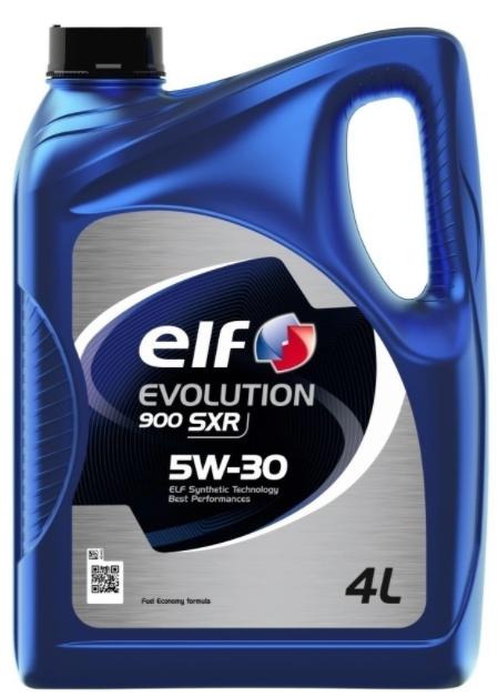 Моторное масло ELF Evolution 900 SXR 5W-30 синтетическое 4 л