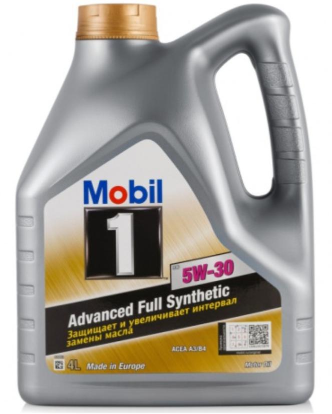 Синтетическое моторное масло MOBIL 1 FS 5W-30 4 л