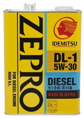 Моторное масло IDEMITSU Zepro Diesel 5W-30 полусинтетическое 4 л